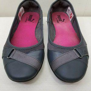 Puma Shoes - Puma 7.5 Comfort Flats Gray BIXLEY Ortholite